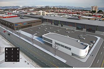 Lade Arena - byggetrinn 2 | Ill.: Architecture