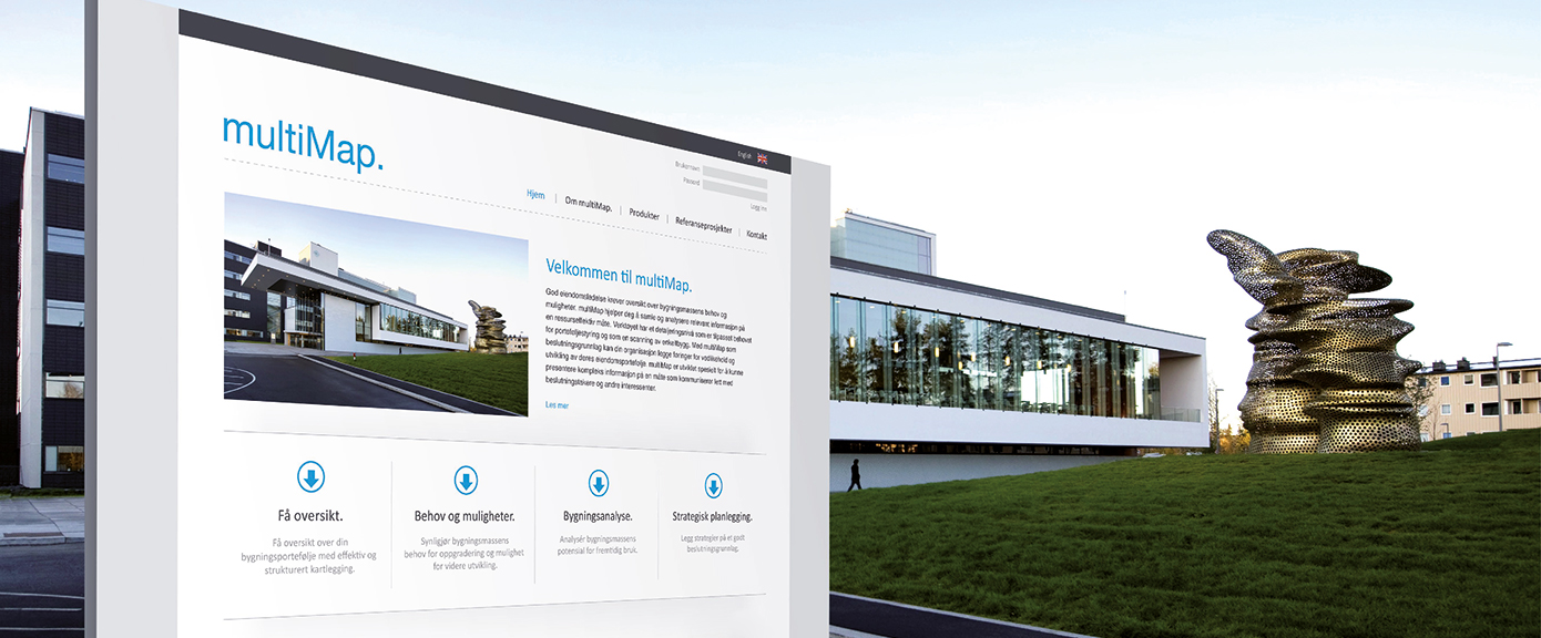 Multiconsult - Bygg og eiendom - Eiendomsledelse - Multimap | Illustrasjon: Multiconsult