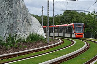 Bybanen Bergen Samferdsel bane