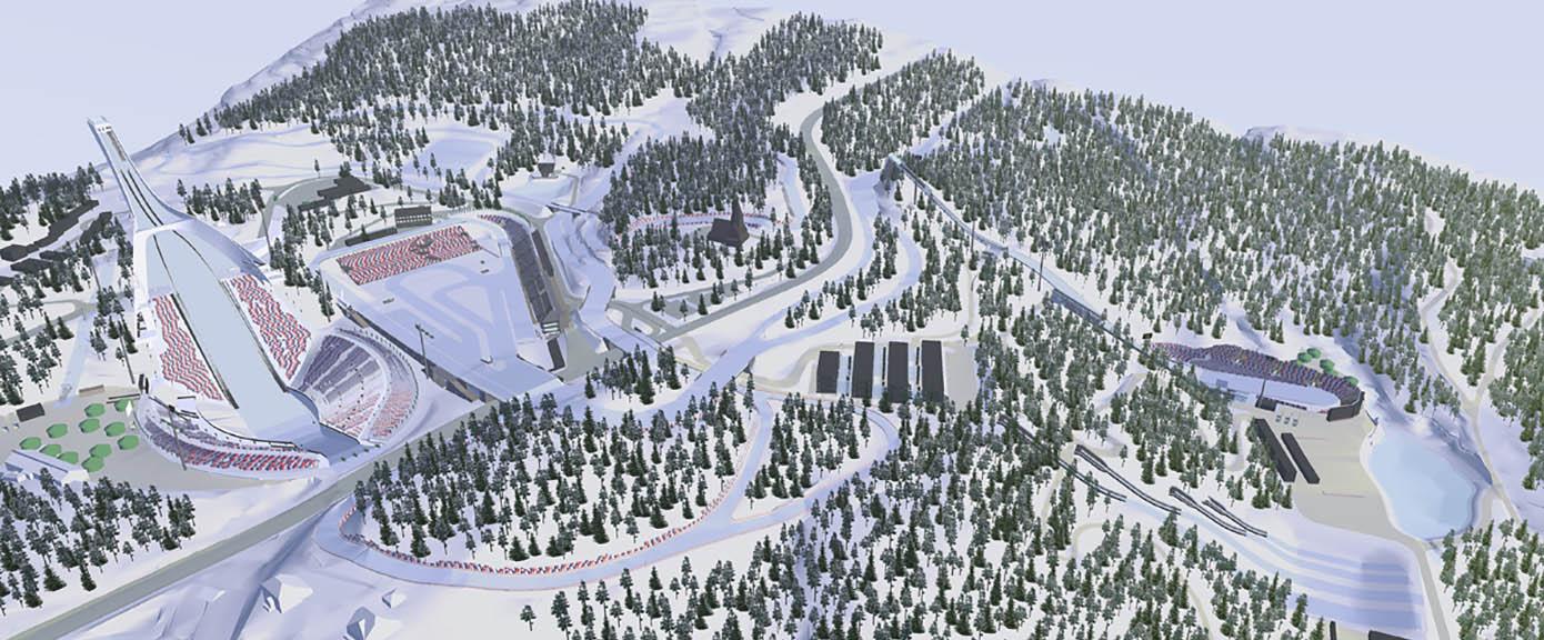Bygg og eiendom Holmenkollen nasjonalanlegg Utredninger og planarbeid 1390x576
