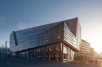 Bygg og eiendom prosjekt Sparebanken Vest Jonsvollskvartalet 334x222