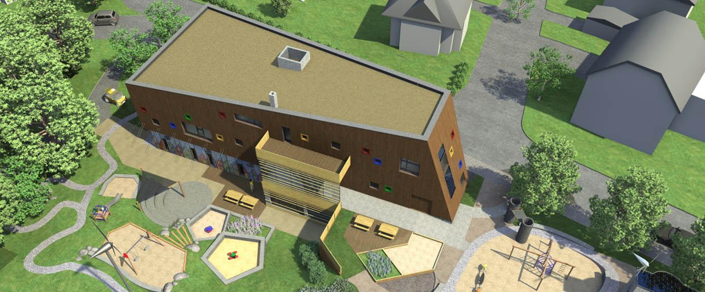 Bygg og eiendom prosjekt Vålandshaugen barnehage