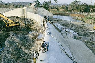 Energi Prosjekt Pangani falls dam