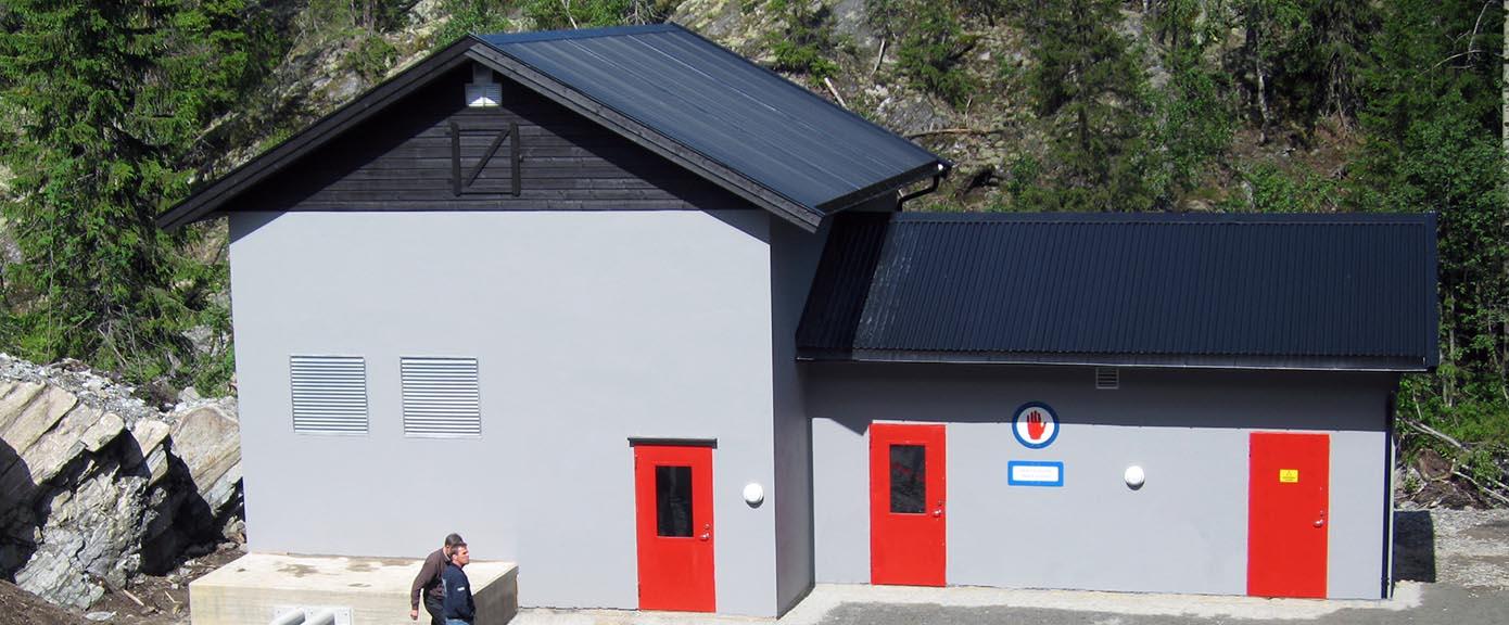 Energi Prosjekt Reina kraftstasjon