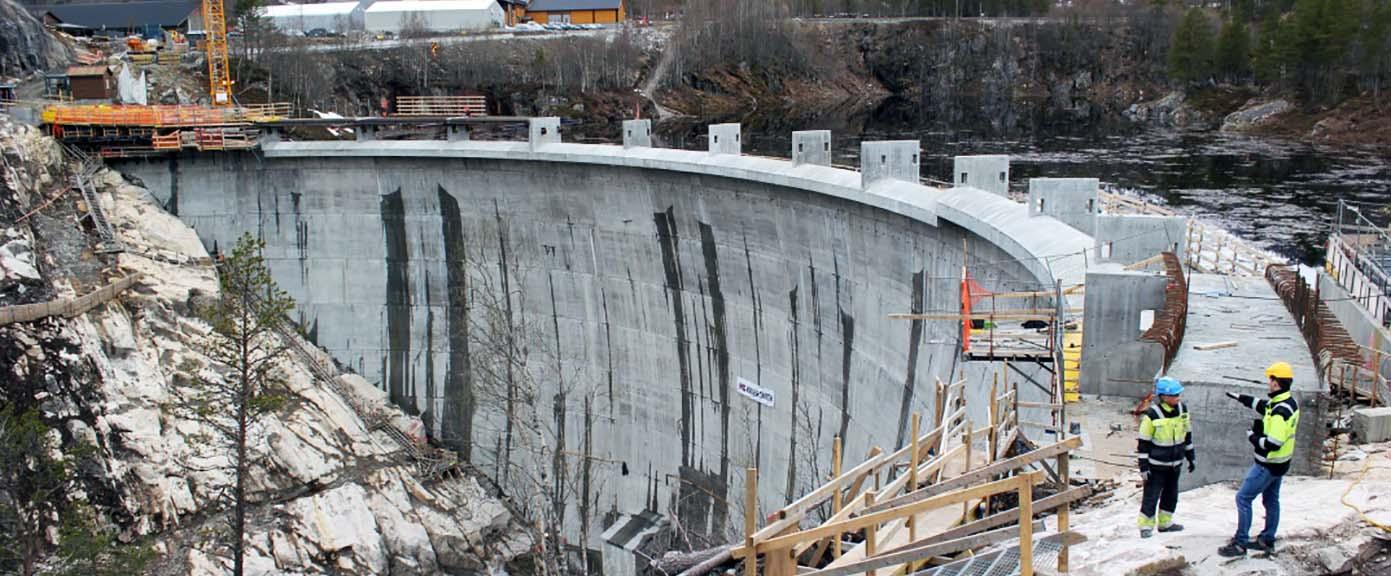 Multiconsult Energi Vannkraft Skarg kraftverk og dam Sarvfossen