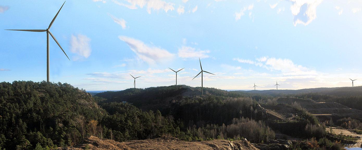 Multiconsult Vindkraftverk LillesandGrimstad Foto: Multiconsult