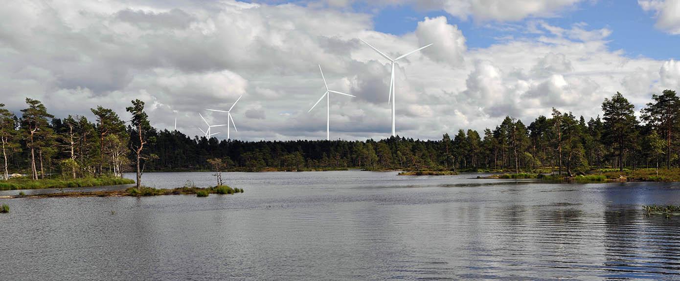 Multiconsult Vestfjella Prosjekt Kjølen Vindkraftverk, Aremark. Oppdragsgiver HavgulcleanenergyAnsvarlig EnergiOslo