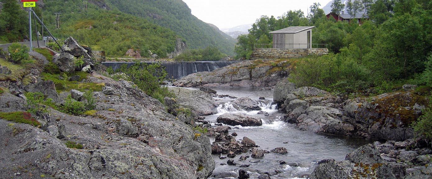 Multiconsult Energi vannkraft Holsbru kraftverk lukehus