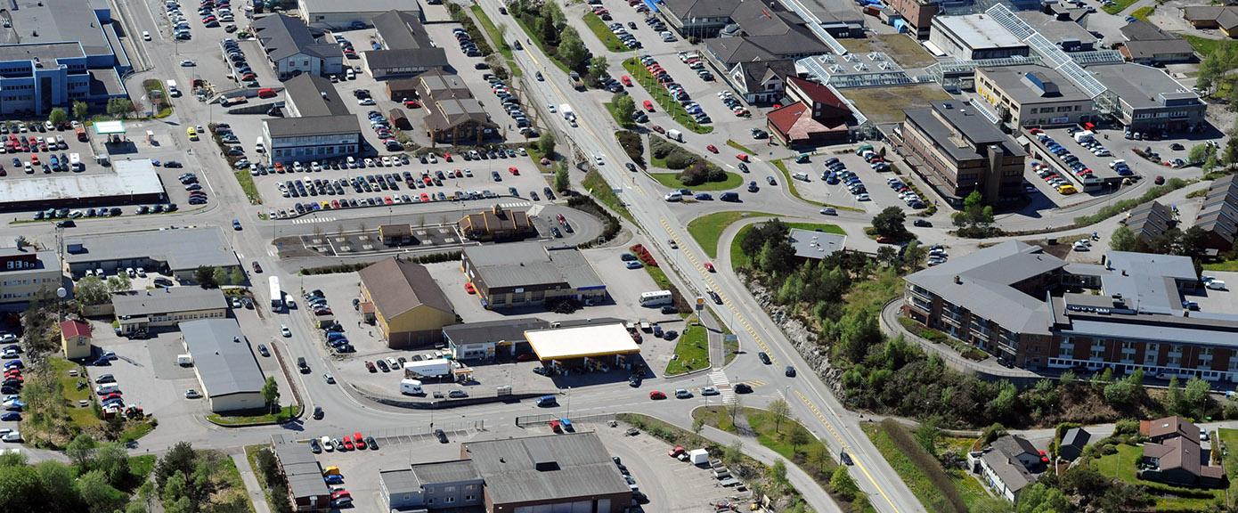 Knarvik, sentrum, områdeplan, multiconsult