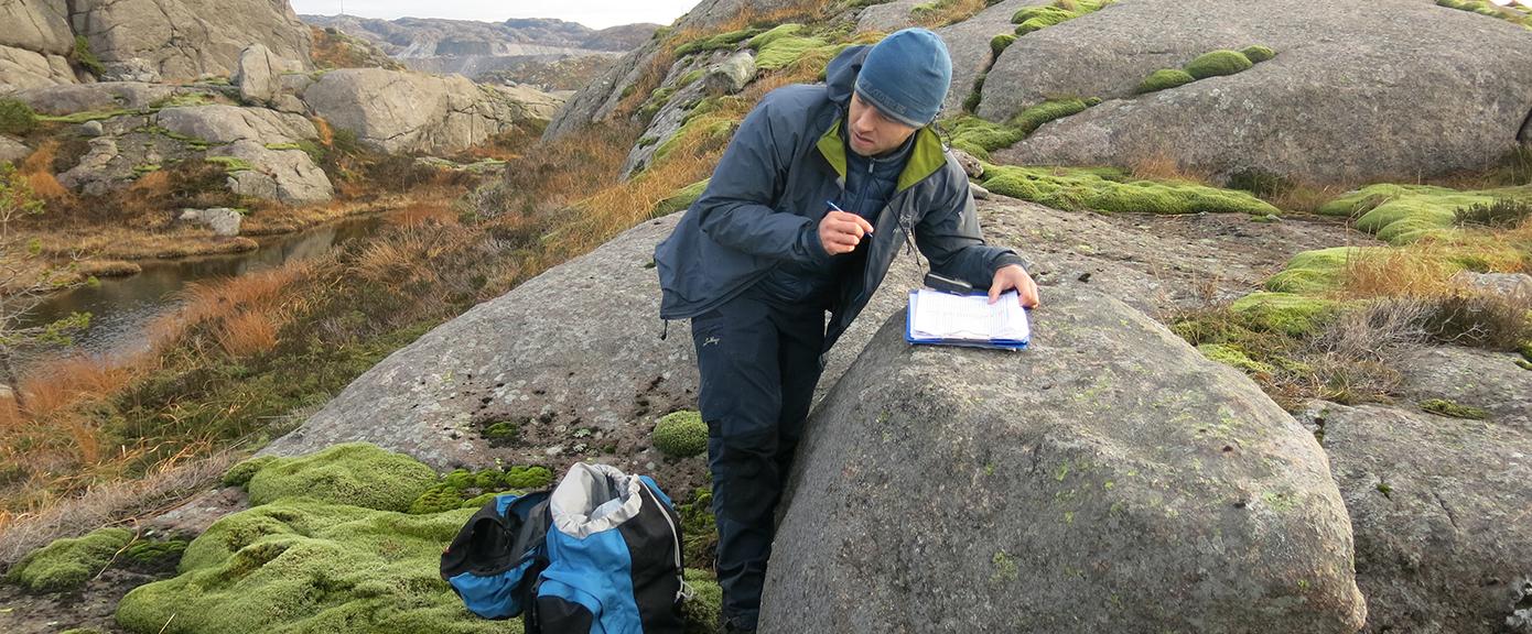 Vurdering og registrering av geologiske forhold | Foto:Stian André Løkken, Multiconsult