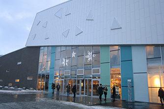 Jekta Storsenter, fasade nord | Foto: AMB-Arkitekter