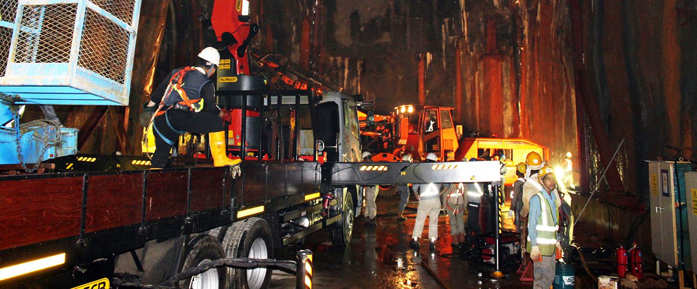 Jurong rock cavern olje og gass onshore