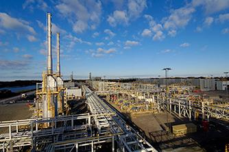 Kollsnes olje og gass landanlegg