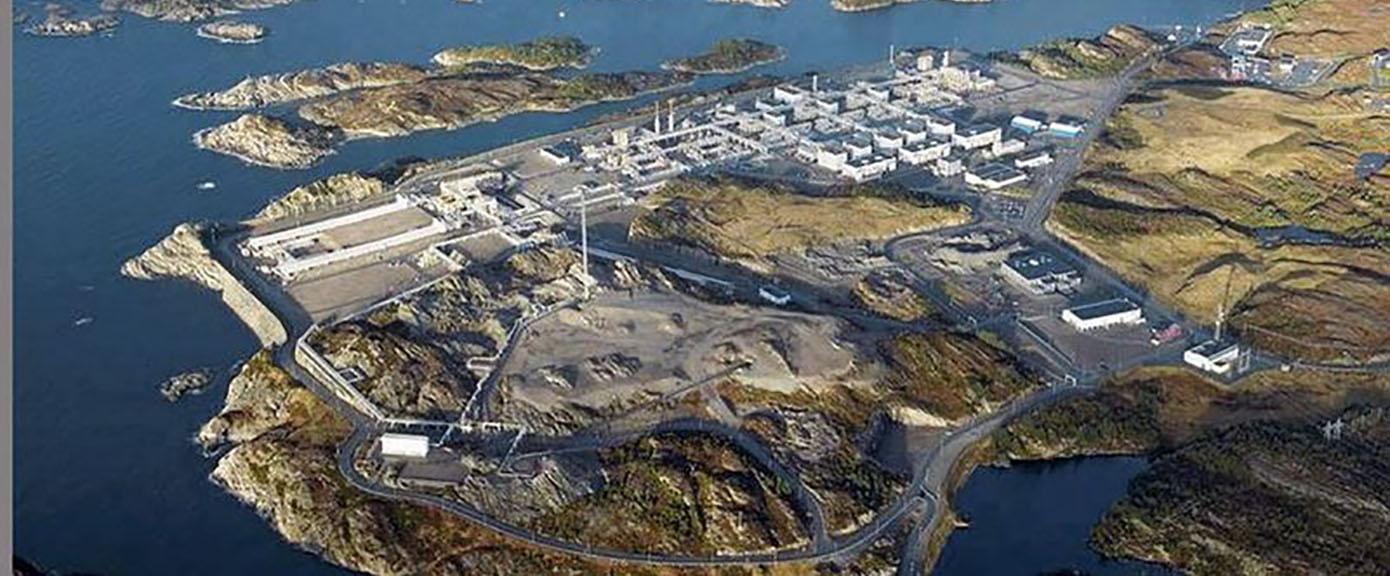 kollsnes kart Gassanlegget på Kollsnes   Multiconsult kollsnes kart