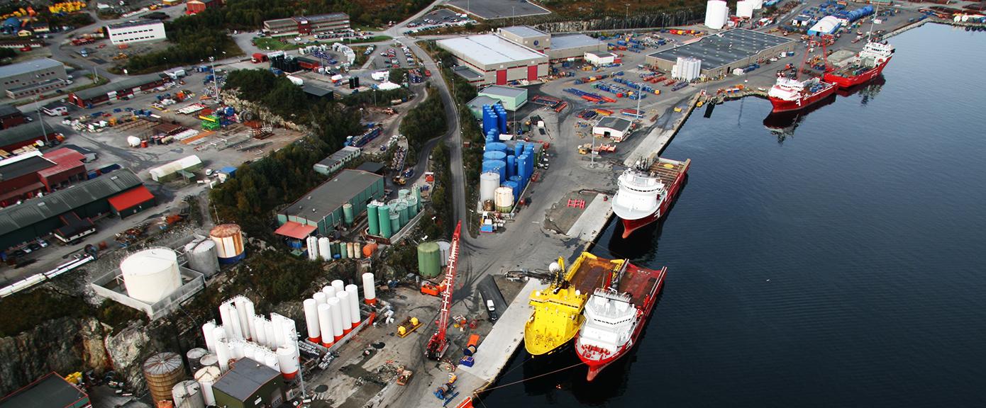 Mongstadbase Olje og gass kaier havneanlegg onshore 1390x576 OG