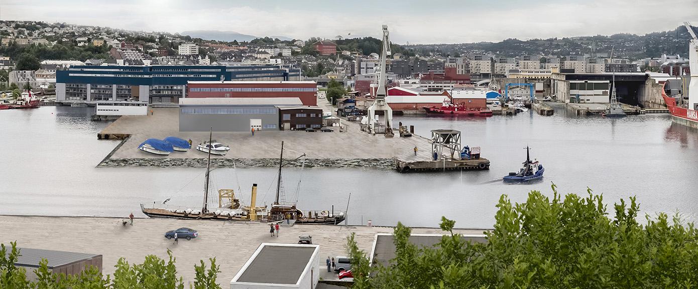 Nyhavna deponi, trondheim havn