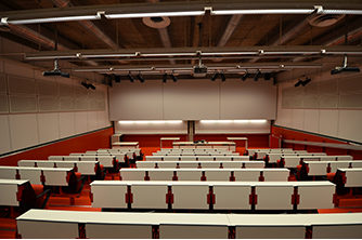 Rødt auditorium | Foto: Multiconsult