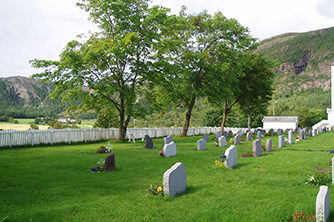 Dun, Kirkegård, utvidelse, prosjektering, Fosnes kommune, Multiconsult