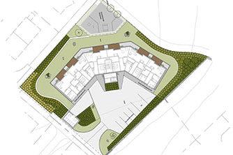 Ilustrasjonplan for Rosk O område | Ill.: Multiconsult
