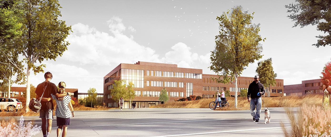 BIM-modell Campus Ås   Ill.: PG Campus Ås