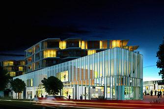 Fornebu senter llustrasjon: AMB Arkitekter