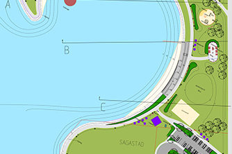 Samferdsel og infrastruktur, Nordøyrane friområde, Norfjordeid, badeplass, Multiconsult