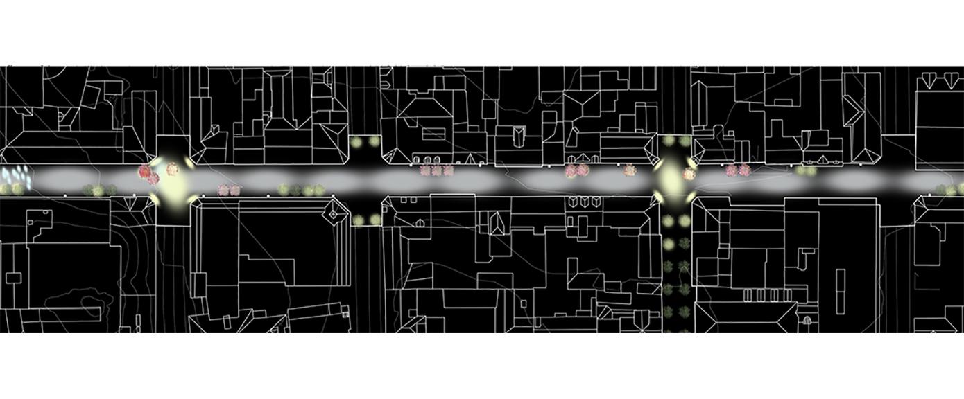 Samferdsel og infrastruktur, St.Marie gate, Sarpsborg, gågate, oppgardering, mørkeplan, Multiconsult