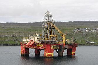 Stena Don oljeplattform Olje og gass offshore