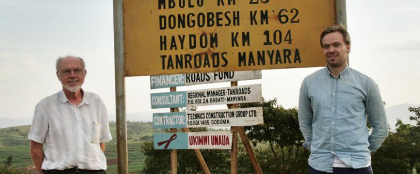 Bygger ny bru i Tanzania med IUG - Multiconsult