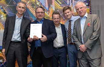 Tønsbergprosjektet tildelt buildingSMART Internationals Awards 2017. Foto: BulidingSMART International